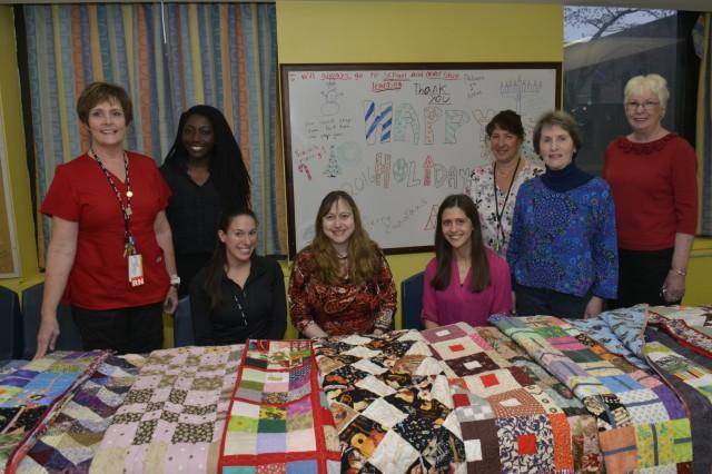 Medical Center Staff with Althea Nolan
